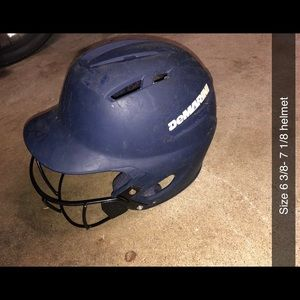 Other - Baseball helmet with face mask